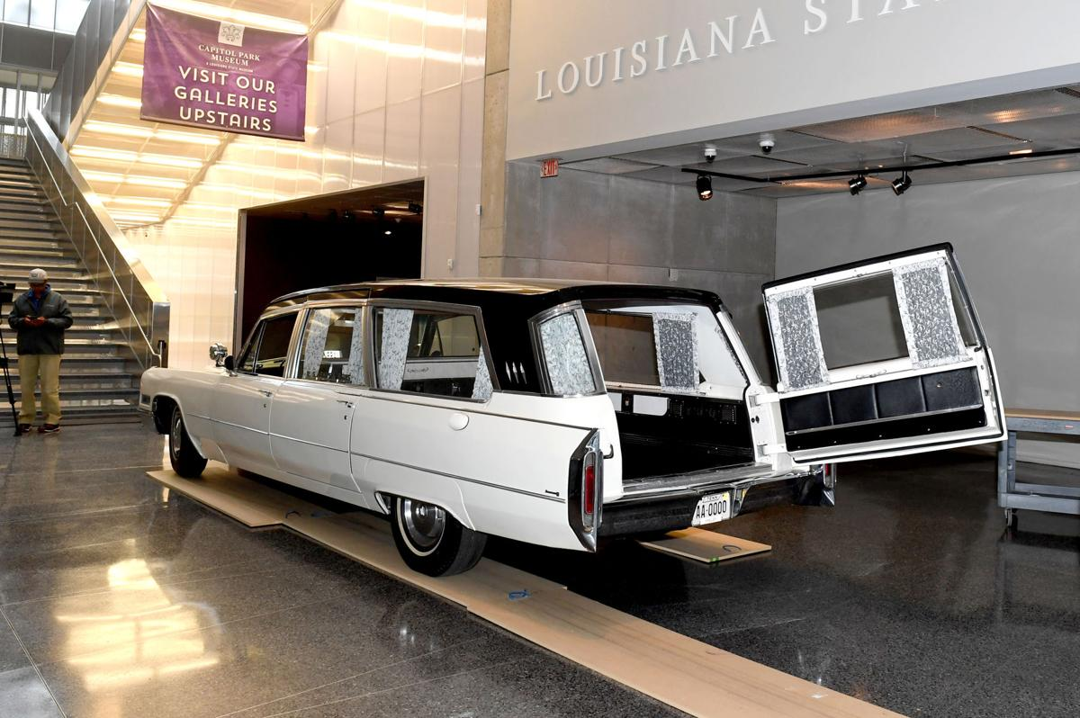 Martin Luther King Hearse